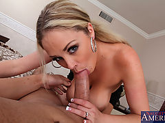 littletits, Busty blond Katie Kox celebrates her anniversary by fucking and sucking her husbands big dick.