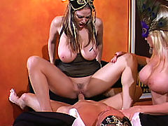 Fetish Vids: Content of Jaime Brooks - My husband and I attended a masquerade party. It was great dressing up and wearing masks. The best part was having a sexy stranger join us downstairs for a little crazed, masked sex adventure...