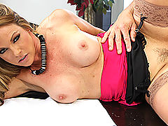 Big Tits w. Dildo, Brazzers Videos The Cock Makes The Suit