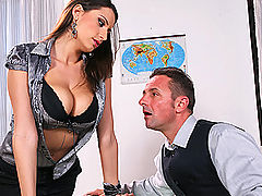 Busty Teen, Brazzers Gratis Be Careful What You Tit For, It Might Cum True