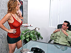 Bouncing Boobs, Brazzers Video The Customer is Always Right!