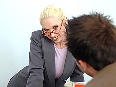 nice boobs, Devon Lee as Sexy Teacher