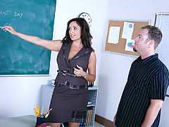 Bigtits Officesex, Vannah Sterling & Jenner as Sexy Teacher